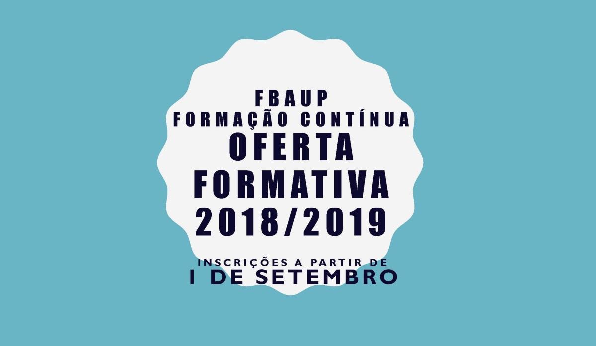 PLANO OFERTA FORMATIVA 2018/ 2019